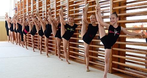 Moderná gymnastika Nitra - gymnastické trén - Kam v meste  437da14c20b